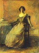Pandora c 1914 By Thomas Wilmer Dewing