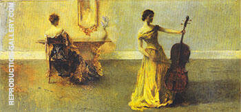An Interior by 1915 By Thomas Wilmer Dewing