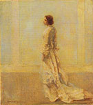 The Old Fashioned Gown c 1921 By Thomas Wilmer Dewing