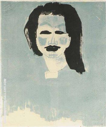Danish Girl By Emil Nolde