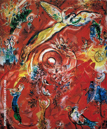 The Triumph of Music By Marc Chagall Replica Paintings on Canvas - Reproduction Gallery