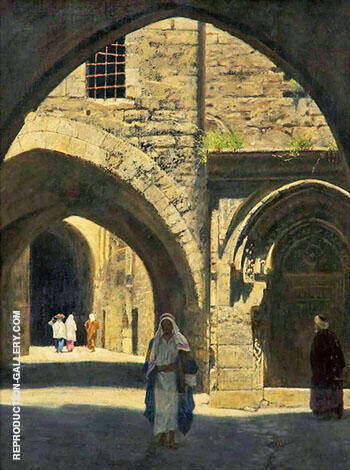 A Street in Jerusalem By John Maler Collier