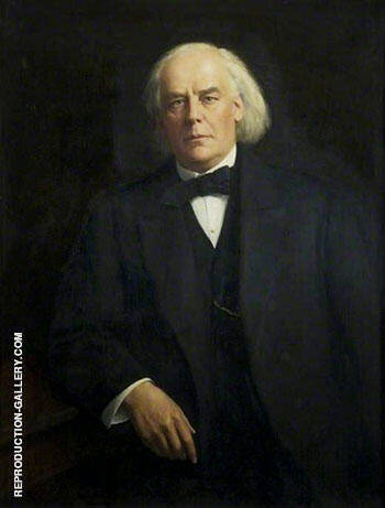 Charles Bradlaugh 1918-19 By John Maler Collier