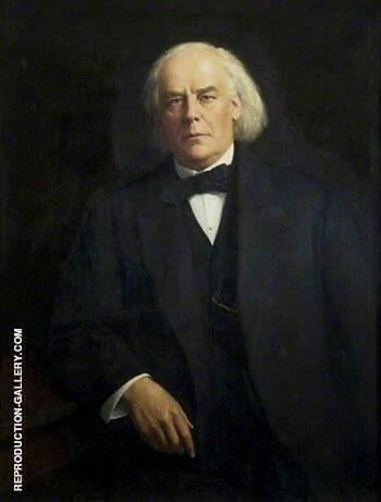 Charles Bradlaugh 1918-19 By John Maler Collier