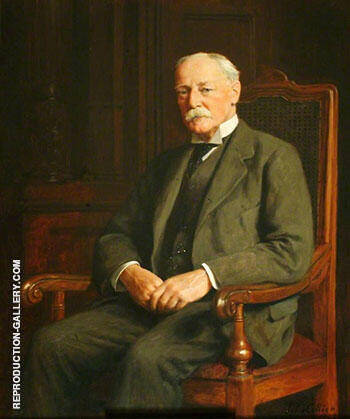 Colonel Arthur Stuart Daniel, Chairman of Godstone Rural District Council (1900-1935) 1928 By John Maler Collier