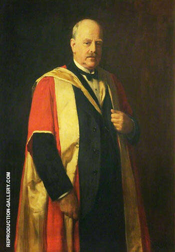 Reproduction of Dr J R Ashworth 1908 by John Maler Collier | Oil Painting Replica On CanvasReproduction Gallery