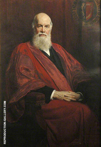 Edward Caird 1835-1908 By John Maler Collier Replica Paintings on Canvas - Reproduction Gallery