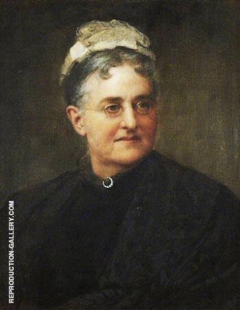 Eliza Lynn Linton 1822-1898 By John Maler Collier