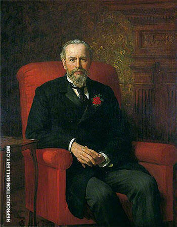Reproduction of Felix Thornley Cobbold 1897 by John Maler Collier | Oil Painting Replica On CanvasReproduction Gallery