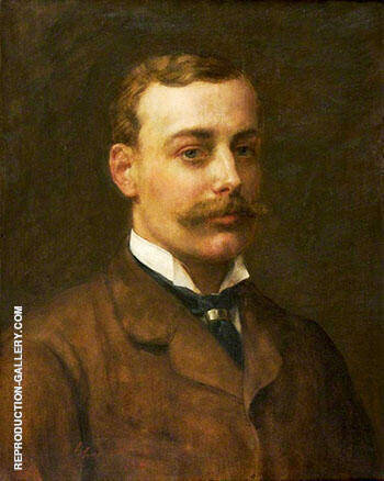 Francis Dukinfield Astley 1881 Painting By John Maler Collier