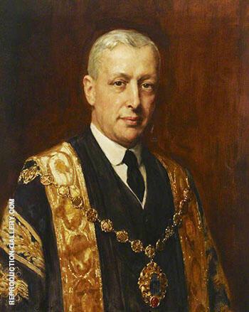 George Henry Heilbuth Mayor of Westminster 1926 By John Maler Collier