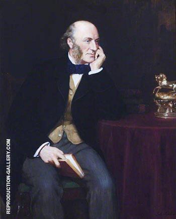 George John Vernon Warren 1803-1866, 5th Baron Vernon 1908 By John Maler Collier