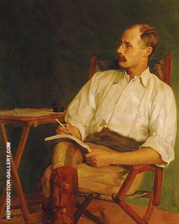George Warrington Stevens War Correspondent 1900 By John Maler Collier