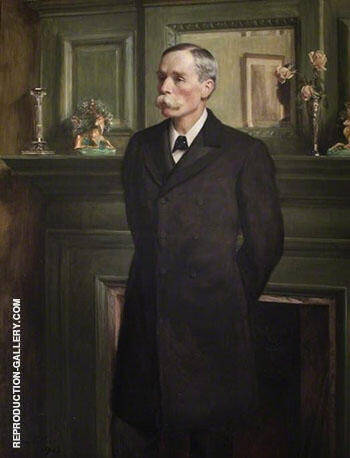 Henry Butlin Pioneer of Head and Neck Surgery 1903 By John Maler Collier