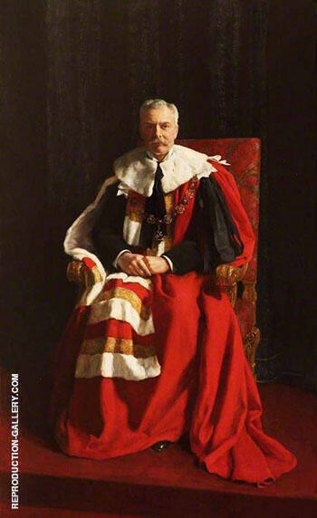 Herbrand Arthur Russell 1858-1940, 11th Duke of Bedford 1913 By John Maler Collier