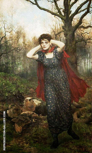 Hetty Sorrel By John Maler Collier - Oil Paintings & Art Reproductions - Reproduction Gallery