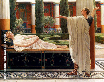 Horace and Lydia By John Maler Collier