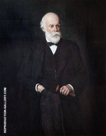 James Andrew 1894 By John Maler Collier - Oil Paintings & Art Reproductions - Reproduction Gallery