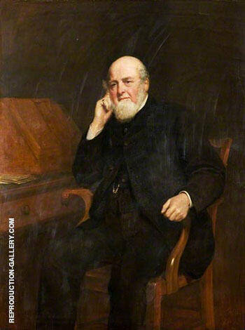 James Laing c1896 By John Maler Collier Replica Paintings on Canvas - Reproduction Gallery