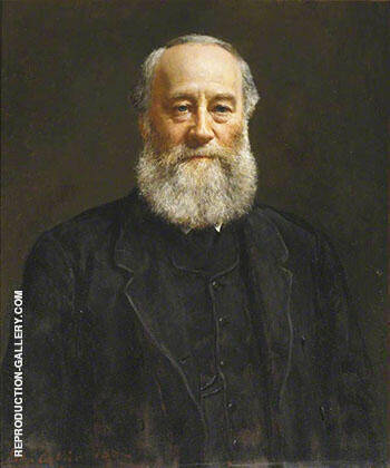 James Prescott Joule 1882 By John Maler Collier Replica Paintings on Canvas - Reproduction Gallery