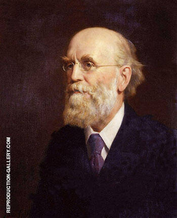 John Clifford 1906 By John Maler Collier - Oil Paintings & Art Reproductions - Reproduction Gallery