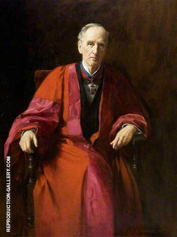 John Morley 1838-1923, Viscount Morley Old Member 1913 By John Maler Collier