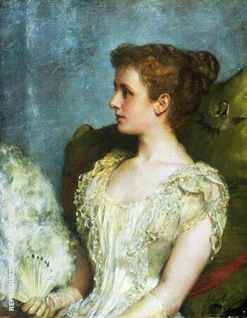 Lady Darling 1892 By John Maler Collier