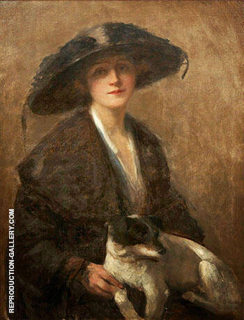 Love Me Love My Dog Painting By John Maler Collier - Reproduction Gallery