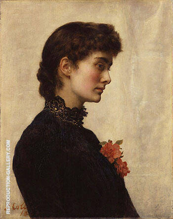 Reproduction of Marion Collier 1883 by John Maler Collier | Oil Painting Replica On CanvasReproduction Gallery