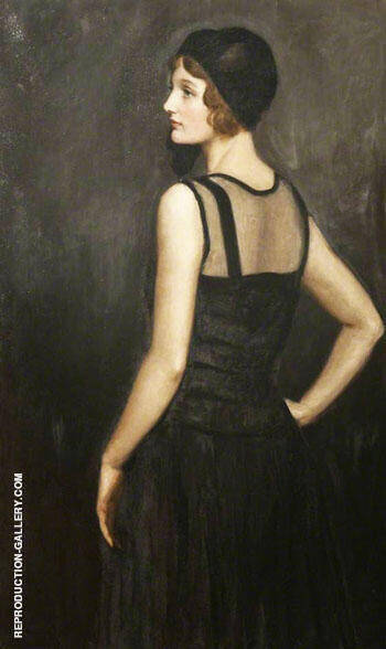 Mrs Osborne Painting By John Maler Collier - Reproduction Gallery