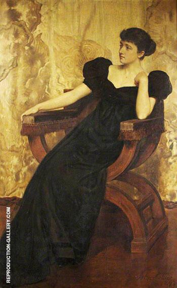 Portrait of an Unknown Woman 1893 By John Maler Collier