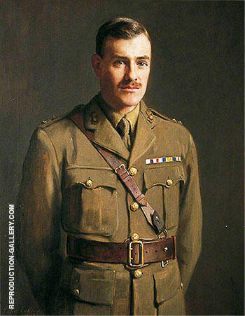 Portrait of Unknown Soldier 1921 By John Maler Collier