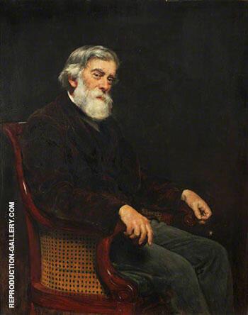 Professor Alexander W. Williamson 1887 By John Maler Collier