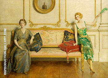 Sacred and Profane Love 1919 By John Maler Collier - Oil Paintings & Art Reproductions - Reproduction Gallery