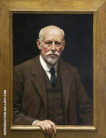 Self-Portrait By John Maler Collier Replica Paintings on Canvas - Reproduction Gallery