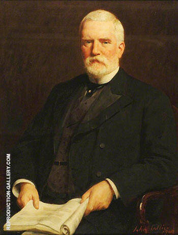 Sir Andrew Mitchell Torrance 1902 By John Maler Collier - Oil Paintings & Art Reproductions - Reproduction Gallery