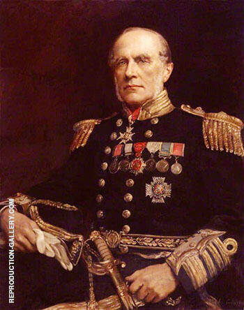 Sir Edward Augustus Inglefield 1897 By John Maler Collier - Oil Paintings & Art Reproductions - Reproduction Gallery
