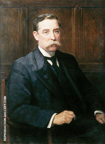 Sir Edwin Cornwall 1863-1953, Politician and Coal Merchant 1907 By John Maler Collier - Oil Paintings & Art Reproductions - Reproduction Gallery