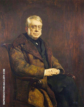 Sir George Biddell Airy By John Maler Collier