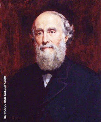 Sir George Williams By John Maler Collier Replica Paintings on Canvas - Reproduction Gallery