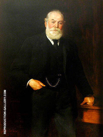 Reproduction of Sir Isaac Wilson 1893 by John Maler Collier | Oil Painting Replica On CanvasReproduction Gallery