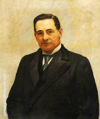 Sir John Bland Sutton 1911 By John Maler Collier - Oil Paintings & Art Reproductions - Reproduction Gallery