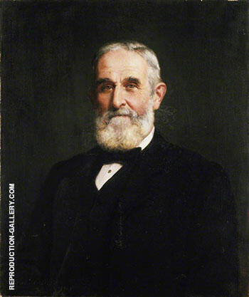 Sir John Evans 1905 By John Maler Collier - Oil Paintings & Art Reproductions - Reproduction Gallery