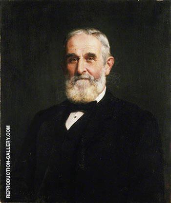 Sir John Evans 1905 By John Maler Collier