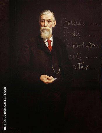 Sir Michael Foster 1907 By John Maler Collier