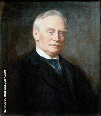 Sir Samuel Butler Provis (1845-1927) 1910 By John Maler Collier