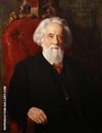 Sir William Huggins 1905 By John Maler Collier