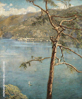 Spring at Cadenabbia 1911 By John Maler Collier