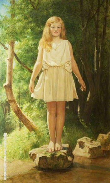 Stepping Stones Pamela 1929 By John Maler Collier