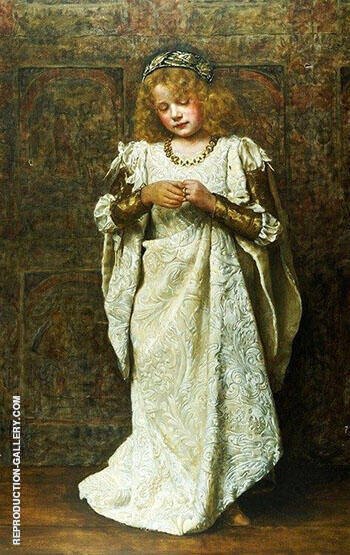 Reproduction of The Child Bride 1883 by John Maler Collier | Oil Painting Replica On CanvasReproduction Gallery